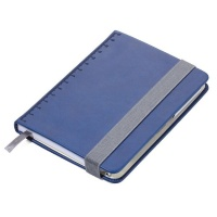 TROIKA Notepad A6 With Slim Multitasking Ballpoint Pen Blue