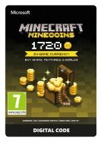 microsoft minecraft 1720 minecoins esd za digital code case