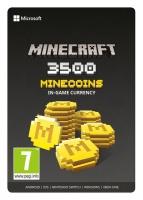 microsoft minecraft 3500 minecoins esd za digital code case