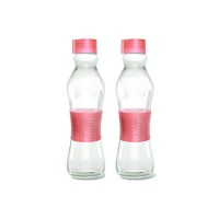 consol 500ml grip n go bottle limited edition salmon 2pk water bottle
