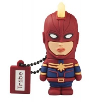 tribe marvel captainmarvel 20 usb flash drive parallel gaming merchandise
