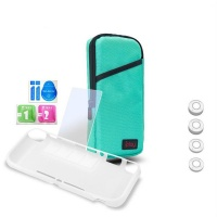 iplay 7 in 1 protection kit nintendo switch lite turquoise case