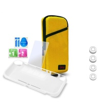 iplay 7 in 1 protection kit nintendo switch lite yellow case