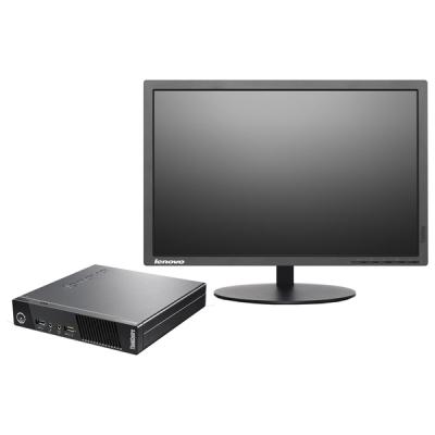 "Photo of Lenovo ThinkCentre M73E - i5 Desktop PC 19"" Monitor Full Set"