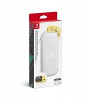 nintendo switch lite carrying case and screen protector ns case