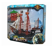 qwidpro pirate ship set exploration storehouse island best boat