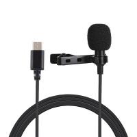 PULUZ 15m USB C Type C Wired Condenser Recording Microphone