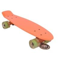grand gopher skateboard penny board orange 22 skateboarding