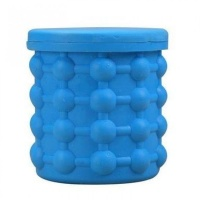 Ice Cube Maker Silicone Bucket