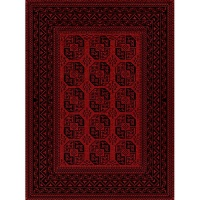 carpet city dark red with black pattern rug 100x150 patio furniture