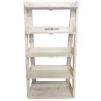 beetroot inc large ladder stacker white entertainment center