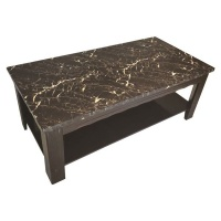 coffee table marble look entertainment center