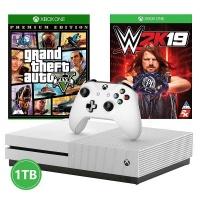 xbox one s console gta v wwe 2k19 1tb