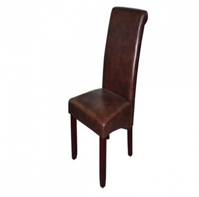 Photo of HII Ringo Dining Chair - PU Brown