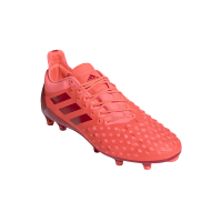 adidas Mens Predator XP Firm Ground Rugby Boots ScarletSignal Coral