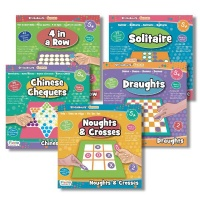 Fiesta Crafts Stickabouts Games Mixed Pack
