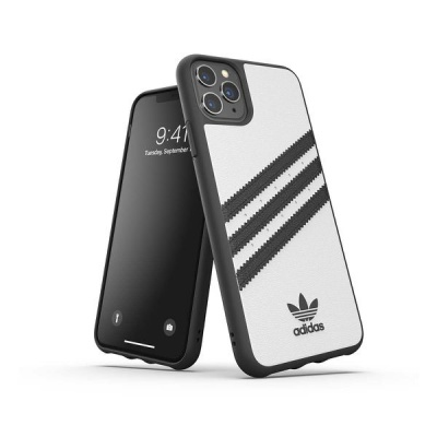 Apple Adidas iPhone 11 Pro Max Samba Case White Black