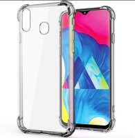 Samsung Boo Shockproof TPU Gel Cover for A20S Clear
