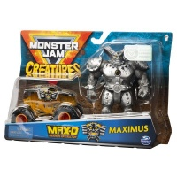 Monster Jam 164 Die Cast Vehicle Creature Figure Max D