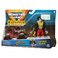 Monster Jam 164 Die Cast Vehicle Creature Figure Pirates Curse
