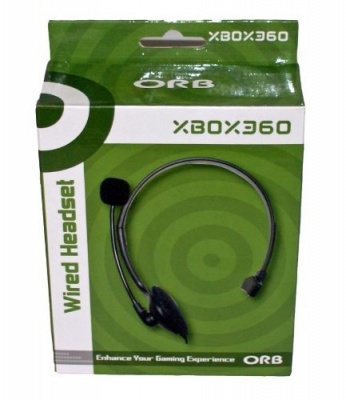 Photo of ORB Wired Headset - Black