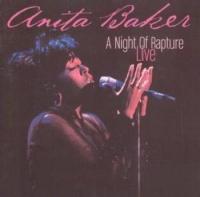 anita baker live a night of rapture cd