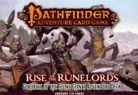 Black Book Editions Devir Giochi Uniti Hobby World Paizo Publishing Ulisses Spiele Pathfinder Adventure Card Game Rise of the Runelords Fortress of the Stone Giants