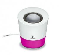 logitech z50 speaker white pink