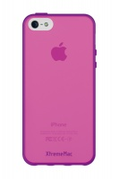 xtrememac iphone 5 micro shield accent purple and p