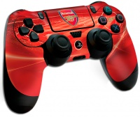 official arsenal fc playstation 4 controller skin ps4
