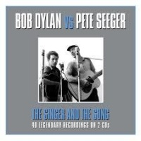 bob dylan vs pete seeger the singer and song vinyl
