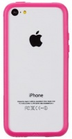 clear mate hula iphone 5c cover pink