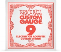 ernie ball 1009 009 plain steel single string