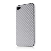 belkin apple protect iphone 44s sticker cover wood silver