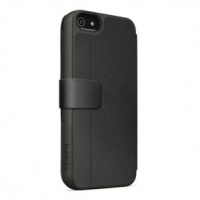 belkin wallet folio with stand case for iphone 5c black