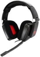 tt esports shock gaming headset black by thermaltake