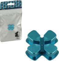 Zedlabz Alloy Metal Directional D Pad Arrow Button Blue