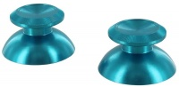 zedlabz alloy metal thumb stick replacements x2 blue ps4