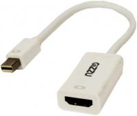 gizzu mini display port to hdmi adapter white