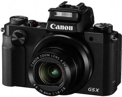 Photo of Canon Powershot G5X - Black Digital Camera