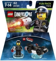 lego dimensions 1 movie bad cop fun pack for