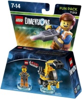 lego dimensions 1 fun movie emmet for ps3ps4xbox