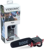 rode videomic directional on camera video microphone with microphone