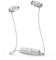 ifrogz impulse bluetooth wireless earphones white