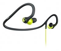 philips shq4400 actionfit earphones blackgreen