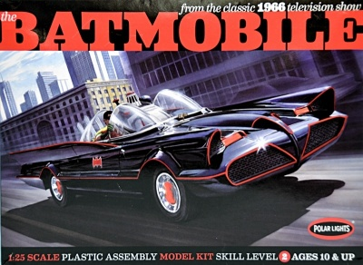 Photo of Polar Lights - Batmobile Deluxe 1966 with Figures & P Etched Parts 1/25