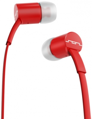 Photo of SOL REPUBLIC Jax Single Button In Ear Headphones - Red