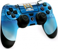 official anchester city fc playstation 4 controller skin
