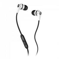 skullcandy inkd 2 in ear headphones with mic white