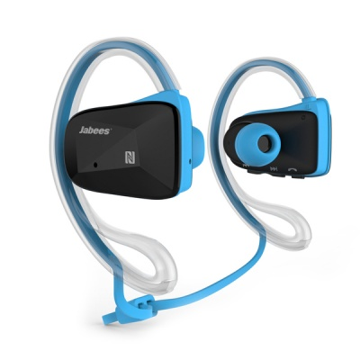 Photo of Jabees Bluetooth Bsports In-ear Headphone V4.1 Blue